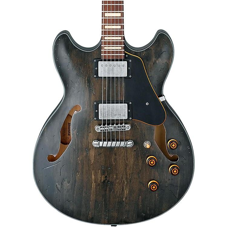 IbanezArtcore Vintage Series ASV10A Semi-Hollow Body Electric GuitarTransparent Black