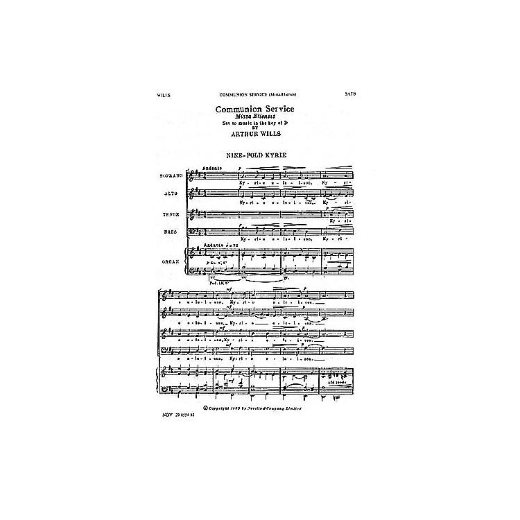 Music SalesArthur Wills: Communion Service (Missa Eliensis) SATB