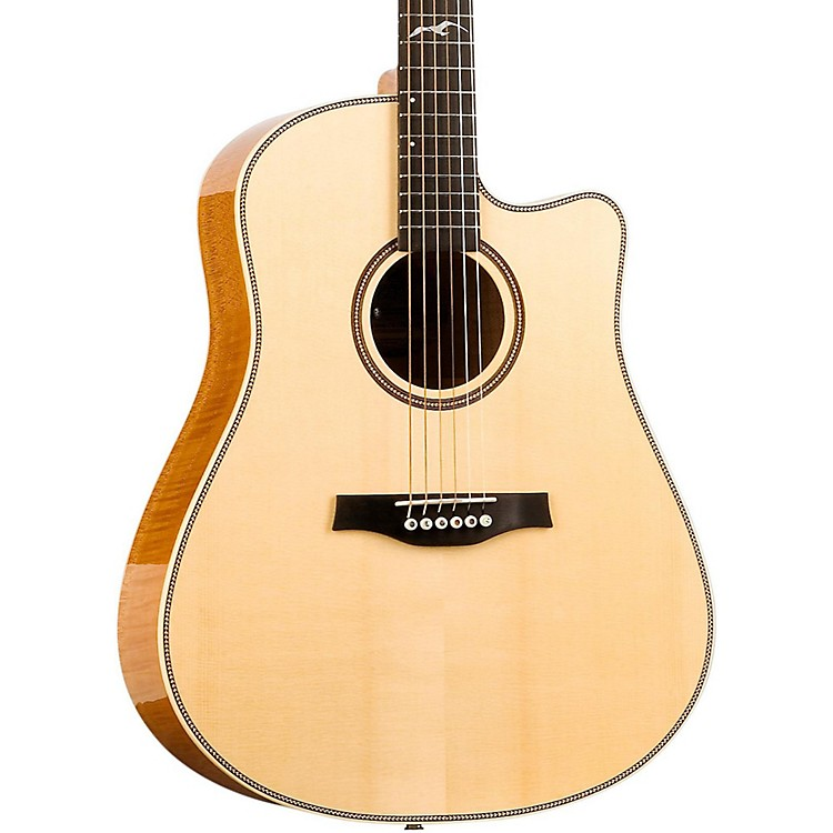 Seagull Artist Cameo CW Element Spruce Top Acoustic-Electric Guitar Natural