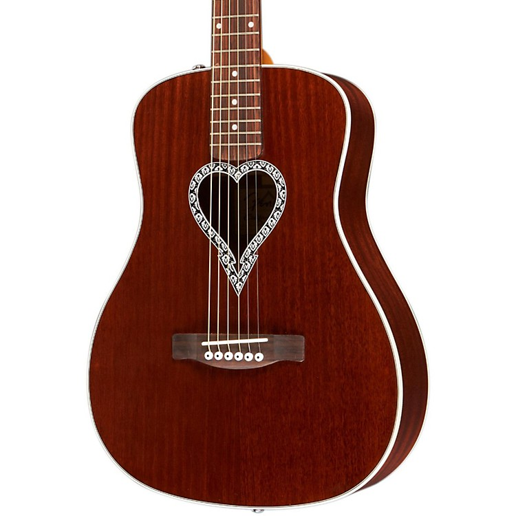 Fender Artist Design Series Alkaline Trio Malibu Mahogany Dreadnought Acoustic Guitar Natural