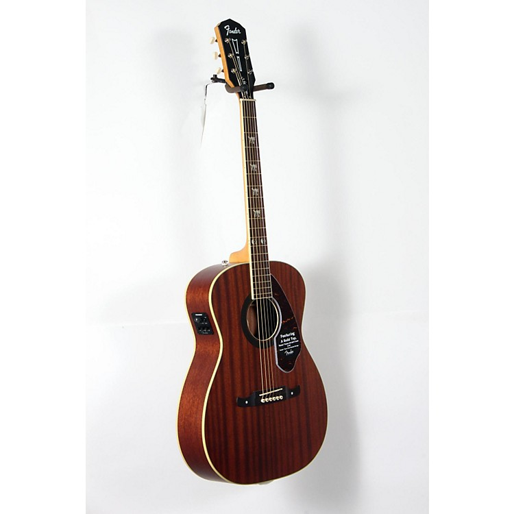 Fender Artist Design Series Tim Armstrong Hellcat Concert Acoustic-Electric Guitar Natural 888365917443
