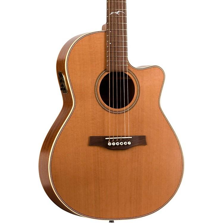SeagullArtist Mosaic CW QII Folk Acoustic-Electric Guitar