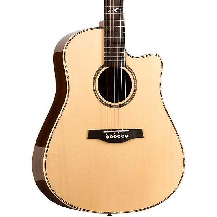 Seagull Artist Peppino Signature CW Acoustic Electric Guitar Natural
