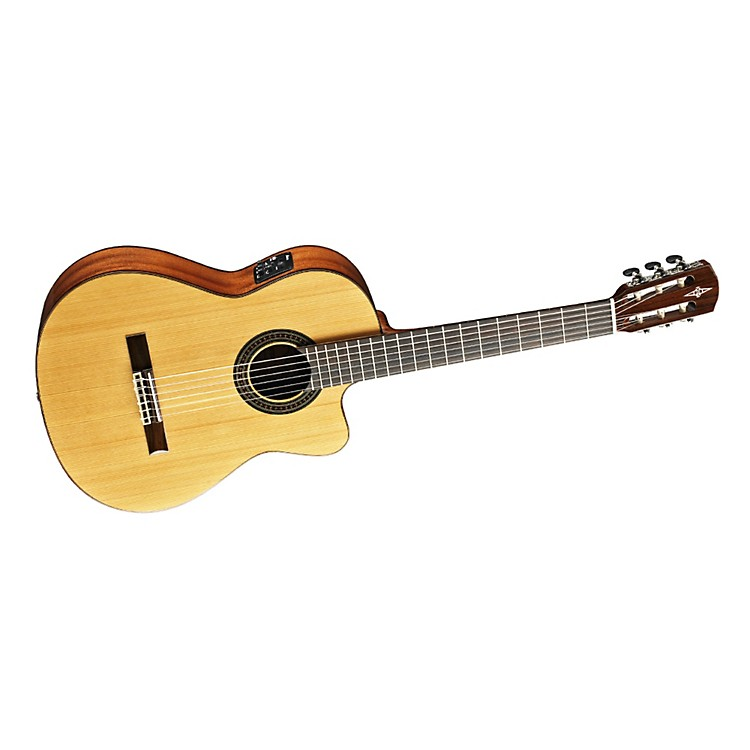 Alvarez Artist Series AC615CE Classical Cutaway Acoustic-Electric Guitar Natural