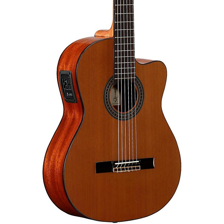 Alvarez Artist Series AC65CE Classical Acoustic-Electric Guitar Natural 888365922034