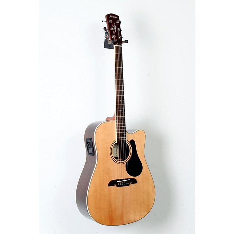Alvarez Artist Series AD70CE Dreadnought Acoustic-Electric Guitar Natural 888365805658