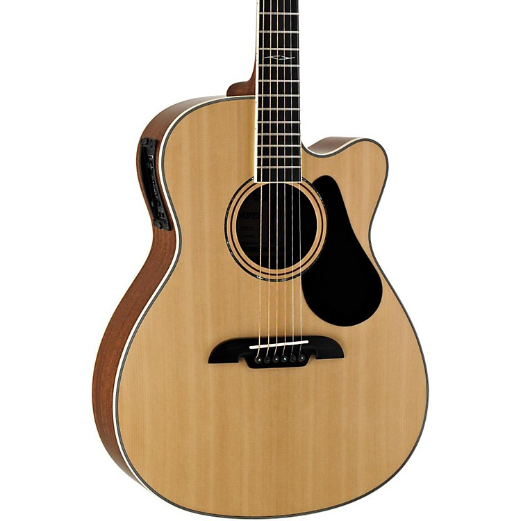 Alvarez Artist Series AF60CE Folk Acoustic-Electric Guitar Natural