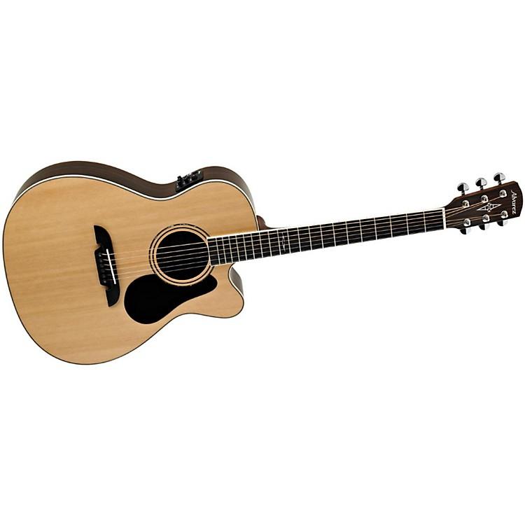 AlvarezArtist Series AF70CE Folk Acoustic-Electric GuitarNatural