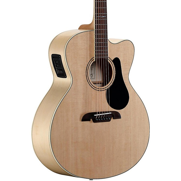 Alvarez Artist Series AJ80CE Jumbo Acoustic-Electric Guitar Natural
