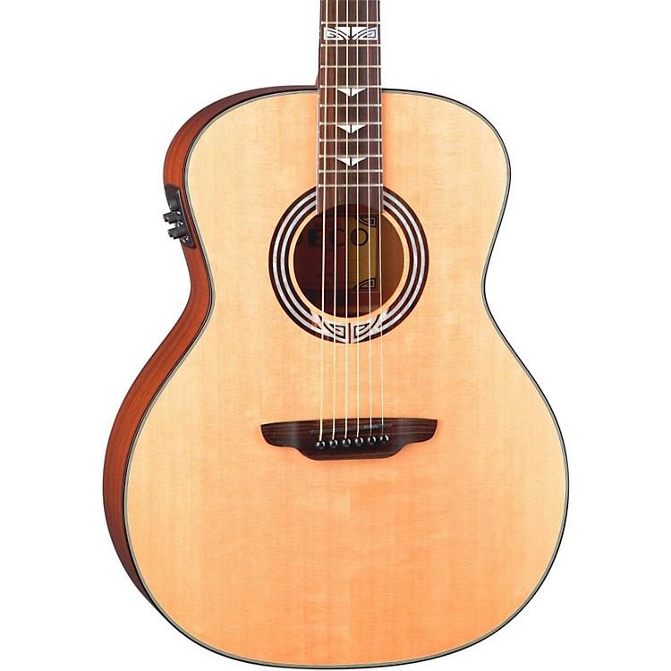 Luna GuitarsArtist Series Deco All Solid Wood Grand Auditorium Acoustic-Electric GuitarNatural