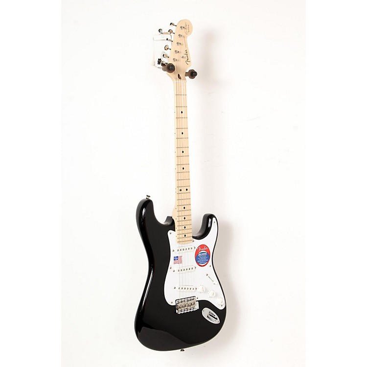 Fender Artist Series Eric Clapton Stratocaster Electric Guitar Black 888365850559