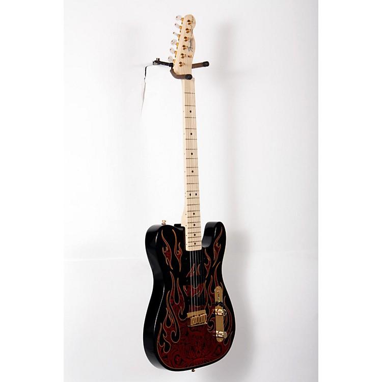 FenderArtist Series James Burton Telecaster Electric GuitarRed Paisley Flames888365826769