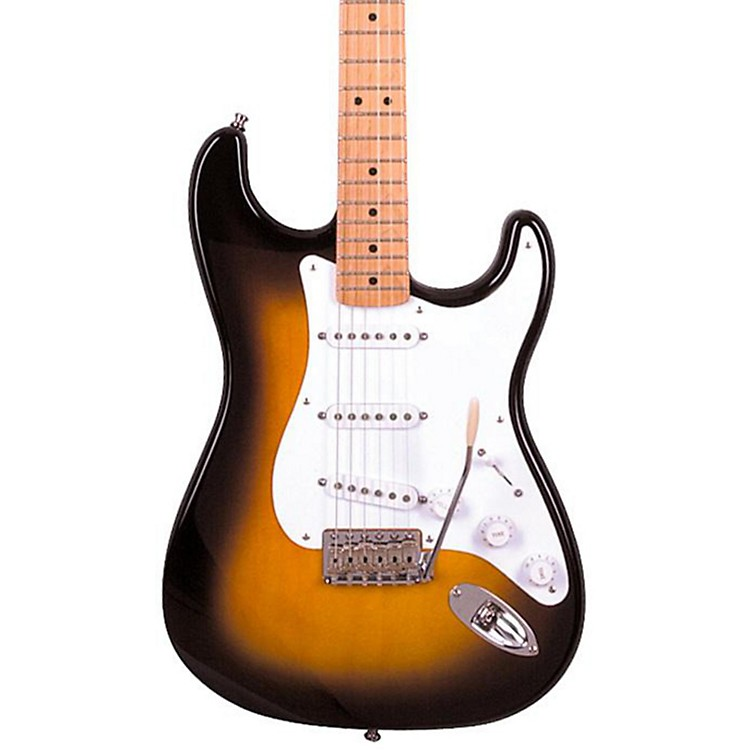 FenderArtist Series Jimmie Vaughan Tex-Mex Stratocaster Electric Guitar2-Color Sunburst