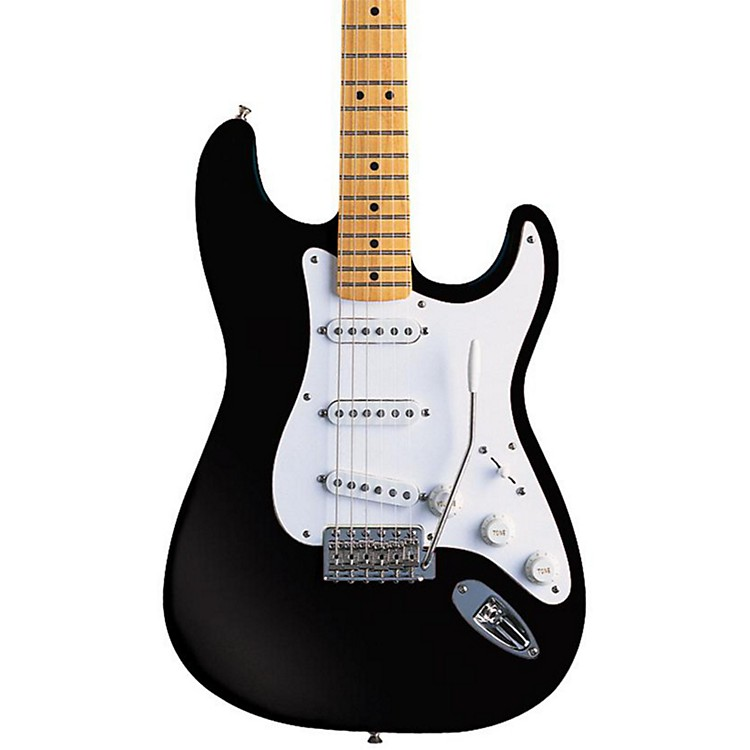 FenderArtist Series Jimmie Vaughan Tex-Mex Stratocaster Electric GuitarBlack