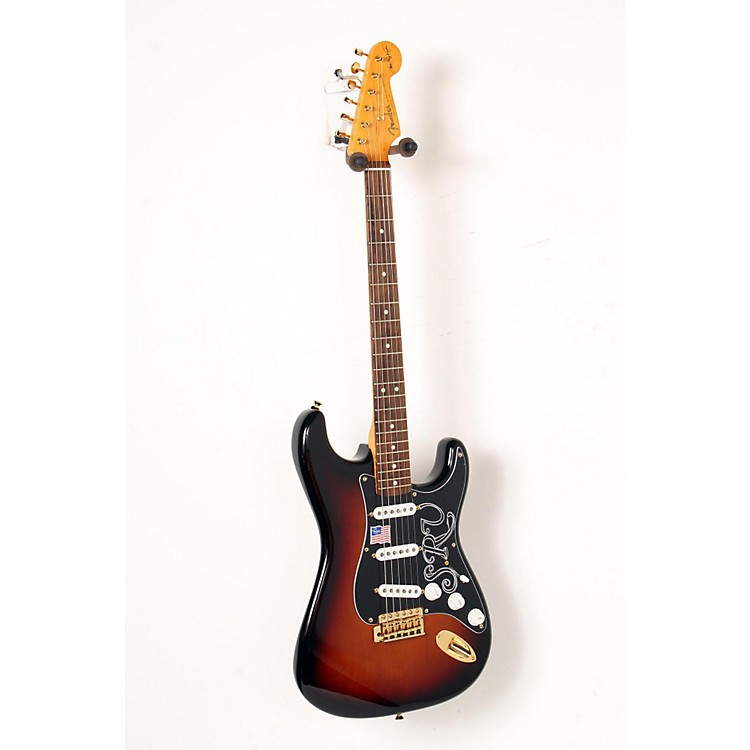 FenderArtist Series Stevie Ray Vaughan Stratocaster Electric Guitar3-Color Sunburst888365851518