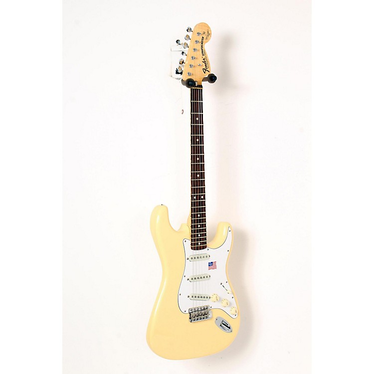 FenderArtist Series Yngwie Malmsteen Stratocaster Electric GuitarVintage White, Rosewood888365841526