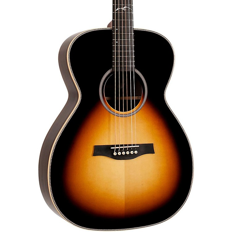 Seagull Artist Studio Concert Hall Acoustic-Electric Guitar Sunburst