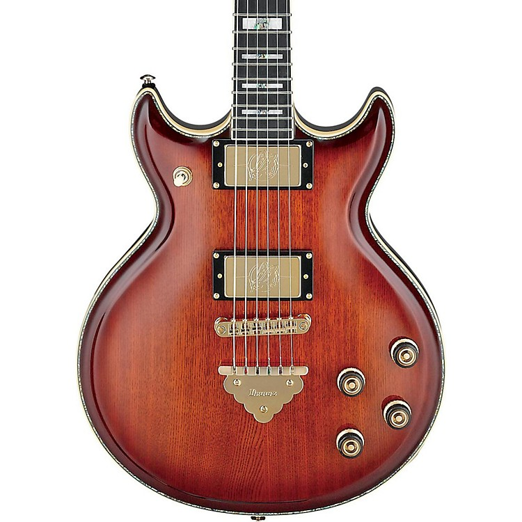 Ibanez Artist series AR720 Electric Guitar Bursted Smoky Quartz