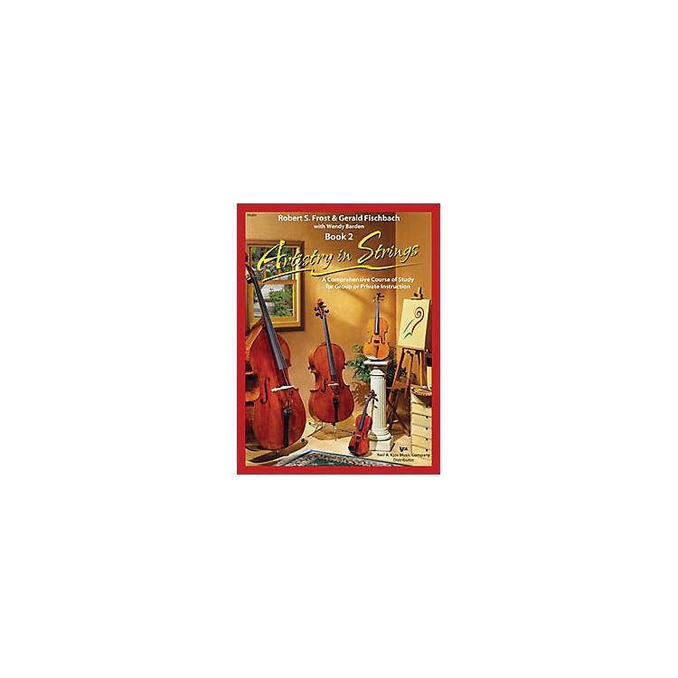 KJOSArtistry In Strings 2 Book/CD Violin Book
