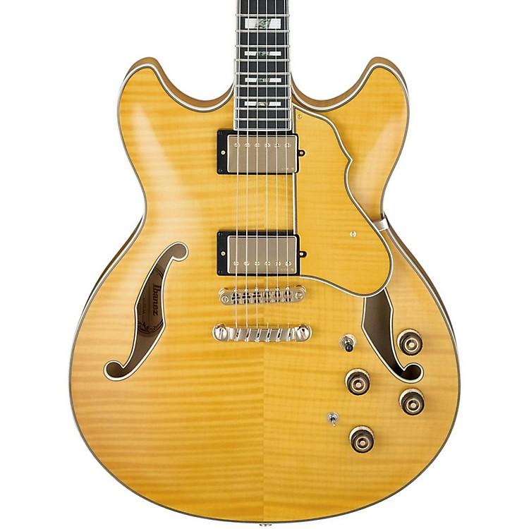 IbanezArtstar Series AS153 Semi-Hollow Electric GuitarAntique Amber