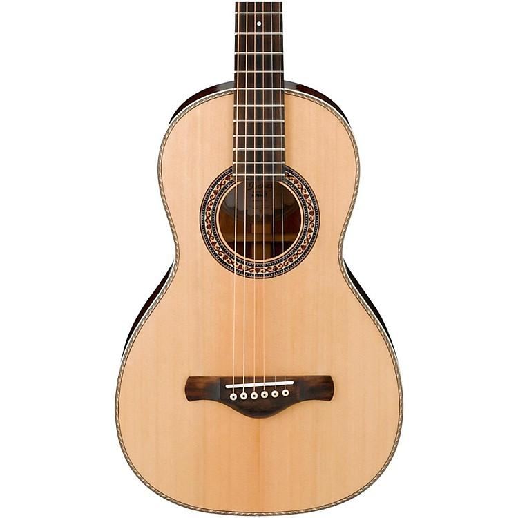 IbanezArtwood Vintage AVN3NT Spruce/Mahogany Parlor Acoustic GuitarNatural