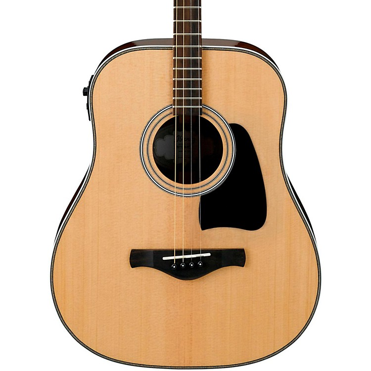 IbanezArtwood Vintage AVT2E-NT Mini Dreadnought Acoustic-Electric GuitarNatural