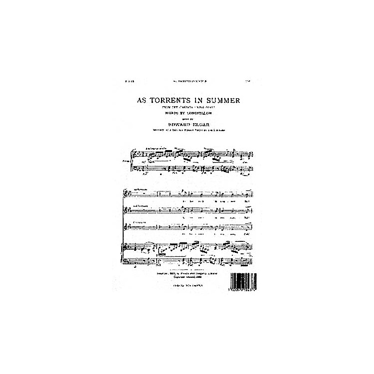 NovelloAs Torrents in Summer SSA Composed by Edward Elgar
