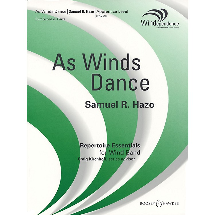 Boosey and HawkesAs Winds Dance (Score Only) Concert Band Composed by Samuel R. Hazo