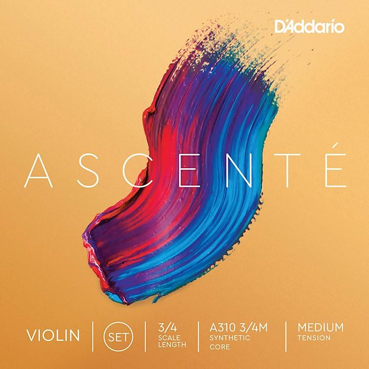 D'AddarioAscente Violin String Set3/4 Size, Medium