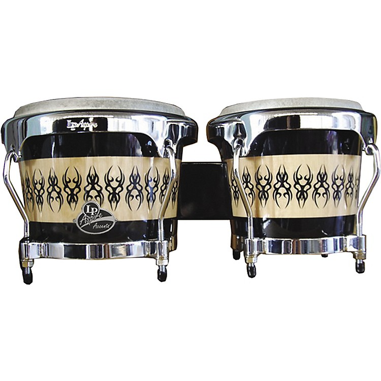 LPAspire Accent Wood Bongos with Scarab Finish
