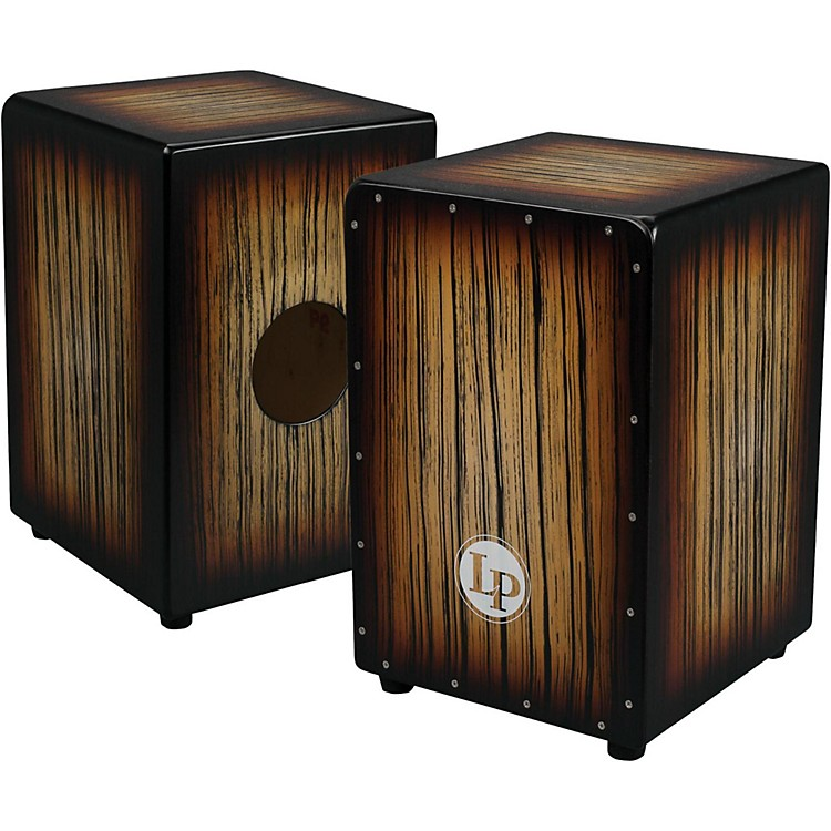 LP Aspire Accents Cajon Dark Wood Streak
