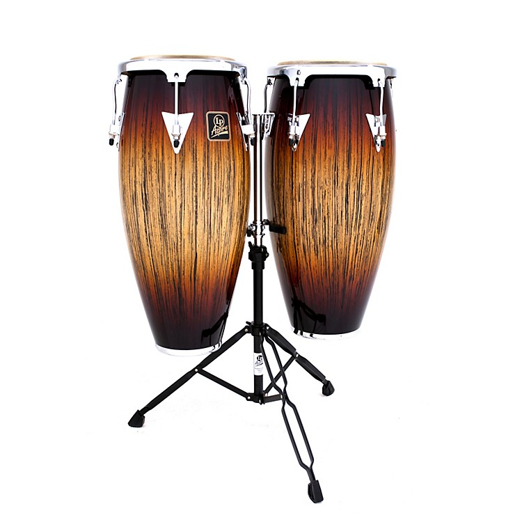 LPAspire Series Anniversary Conga Set with Double Stand