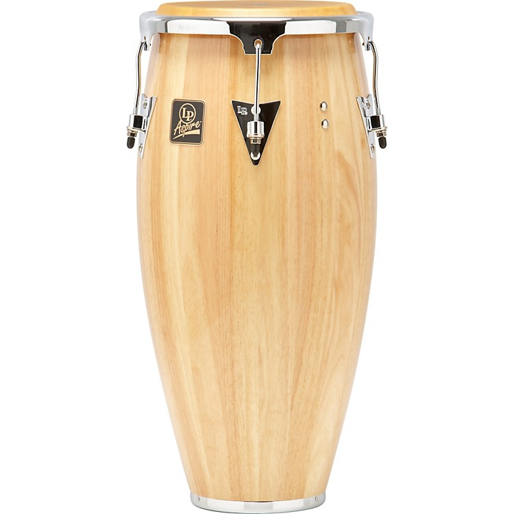 LP Aspire Wood Conga Chrome Hardware 11 in. Natural Wood