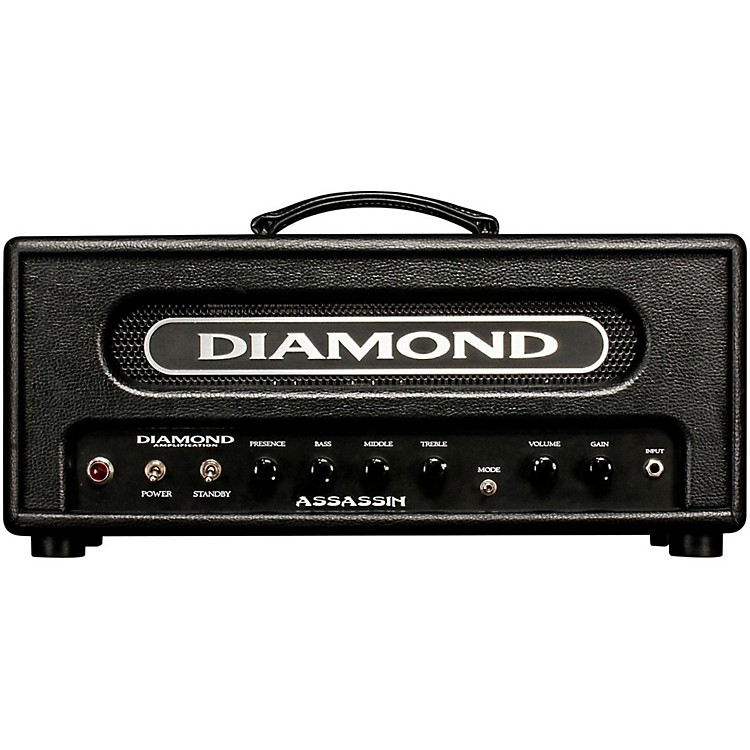 diamond amplification assassin vanguard series 22w tube guitar amp head music123. Black Bedroom Furniture Sets. Home Design Ideas