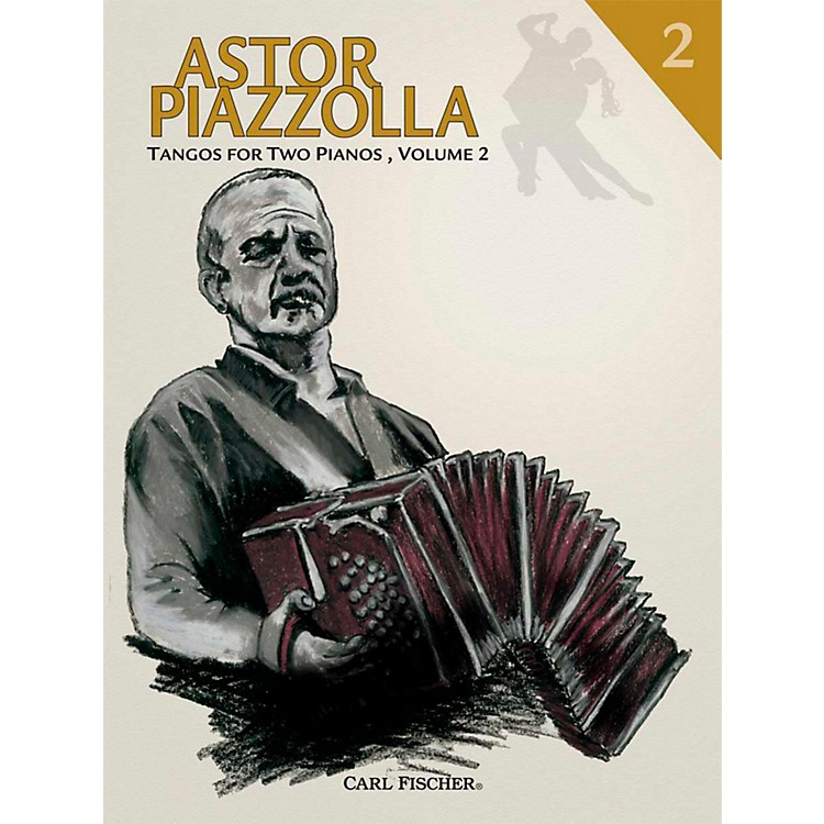 Carl Fischer Astor Piazzolla - Tangos for Piano (Book) For 2, Volume 2