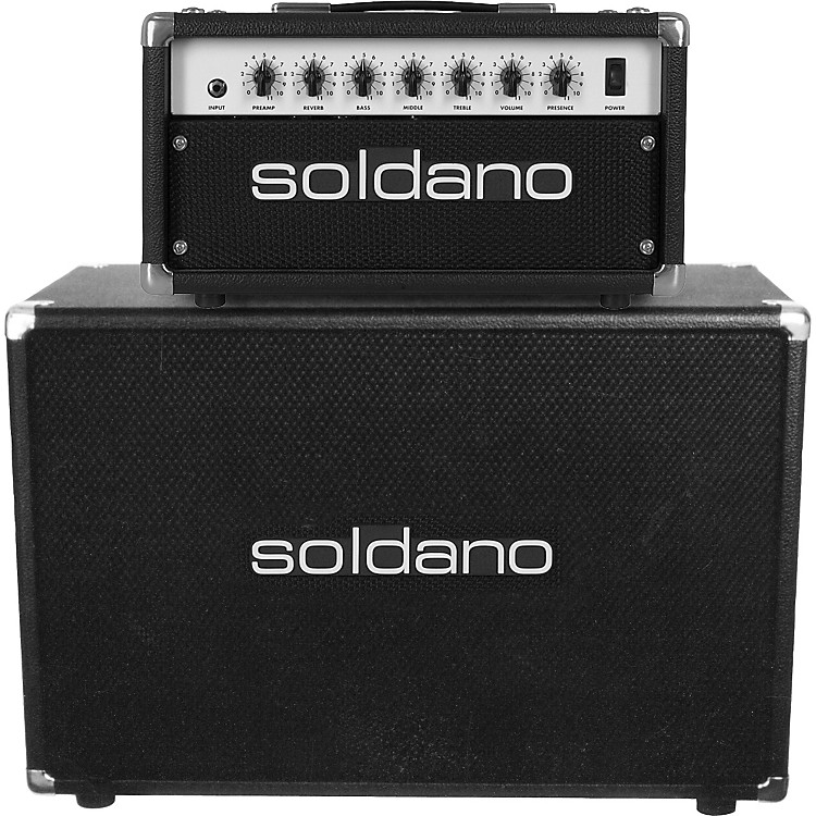 Soldano Astroverb Series Head and 2x12 Half Stack