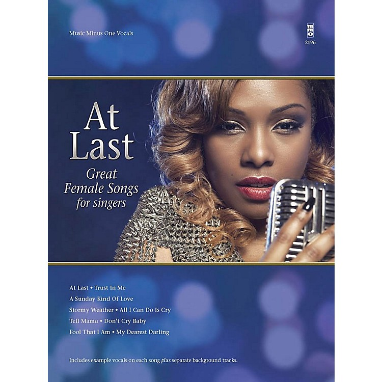 Music Minus One At Last Music Minus One Series Softcover with CD