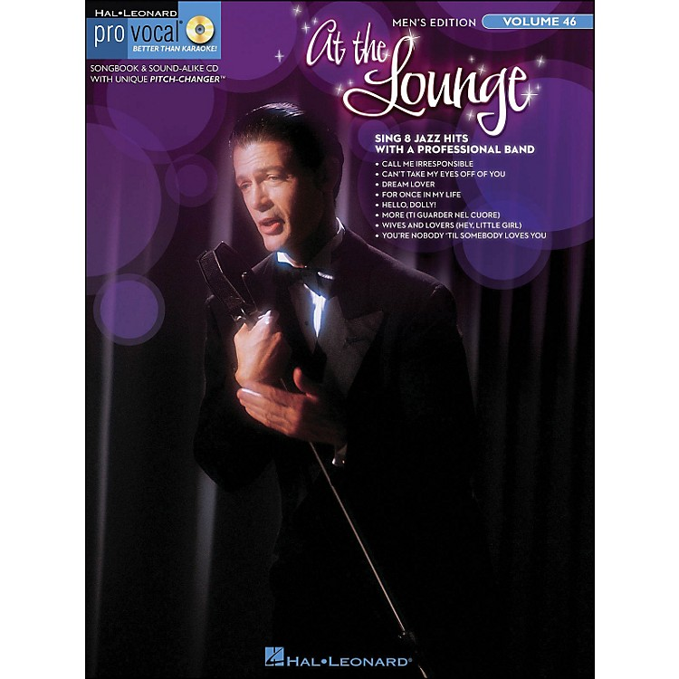 Hal Leonard At The Lounge - Pro Vocal Songbook & CD for Male Singers Volume 46