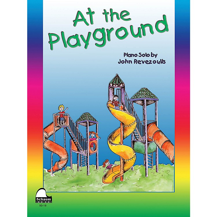 SCHAUM At The Playground Educational Piano Series Softcover