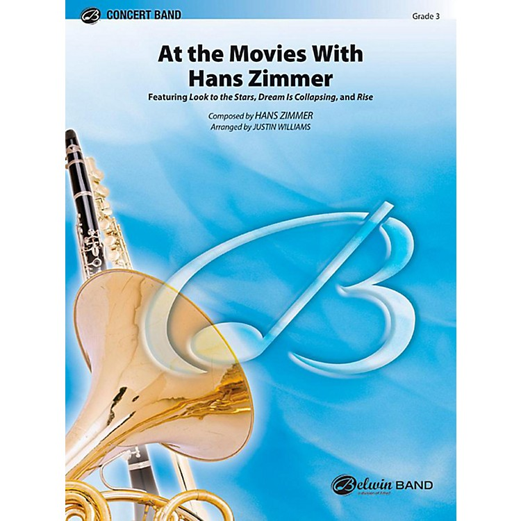 AlfredAt the Movies with Hans Zimmer Concert Band Level 3 Set