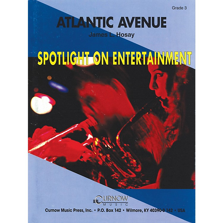 Hal Leonard Atlantic Avenue (Grade 3 - Score Only) Concert Band Level 3 Composed by James L. Hosay