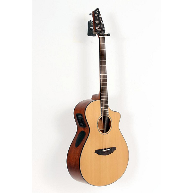 Breedlove Atlas Series Solo C350/CMe Concert Acoustic-Electric Guitar Natural 888365060316