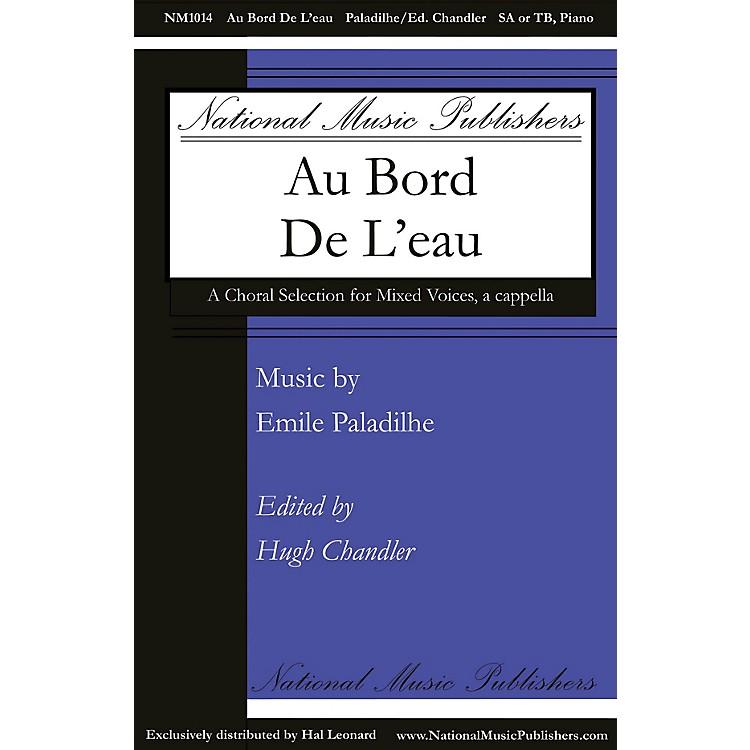National Music PublishersAu Bord de l'Eau SA composed by Emile Paladilhe