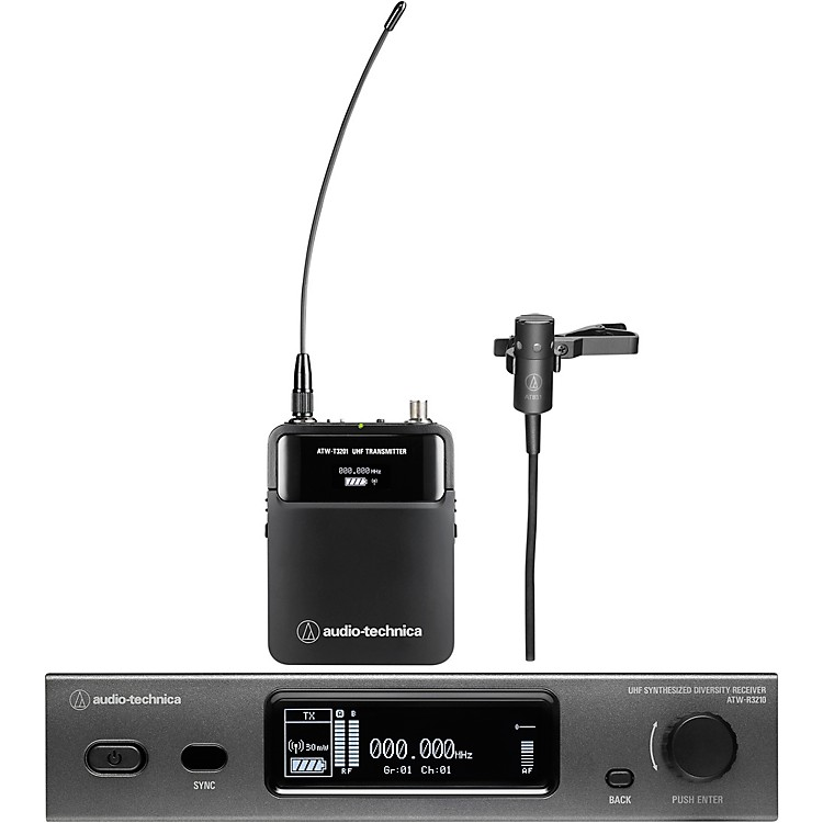 Audio-Technica Audio-Technica ATW-3211/831 3000 Series Frequency-agile True Diversity UHF Wireless Systems Band DE2