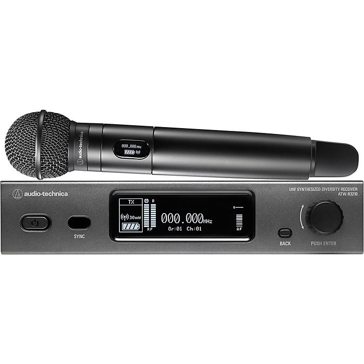 Audio-TechnicaAudio-Technica ATW-3212/C510 3000 Series Frequency-agile True Diversity UHF Wireless SystemBand DE2