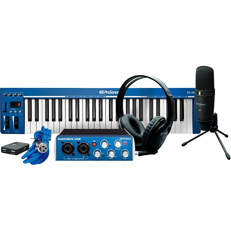 PreSonus AudioBox Music Creation Suite  888365714042