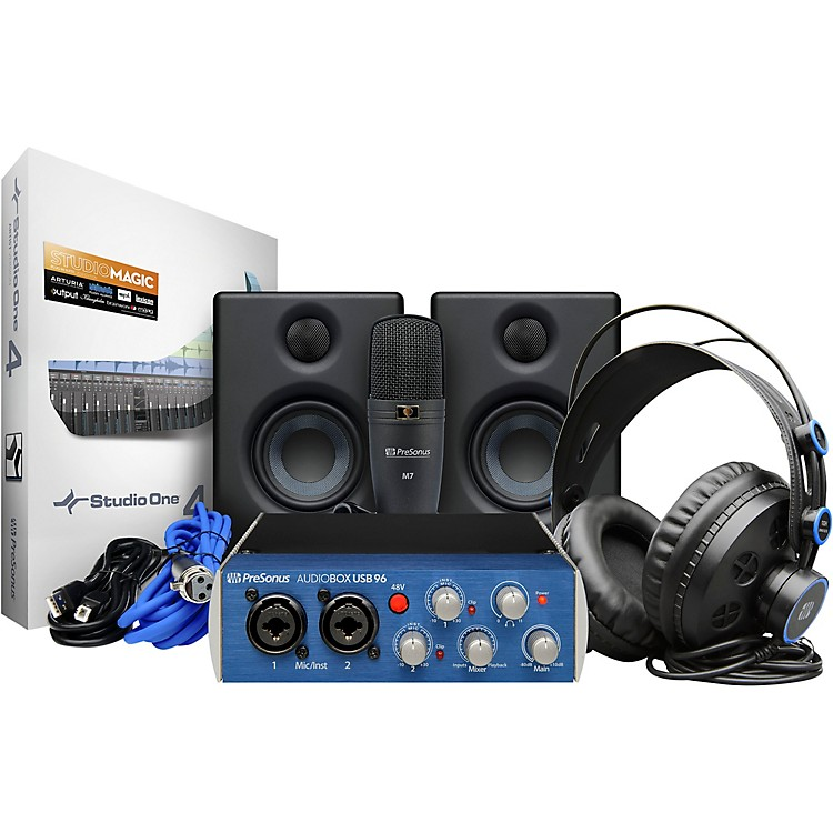 PreSonus AudioBox Studio Ultimate Bundle Complete Hardware/Software Recording Kit