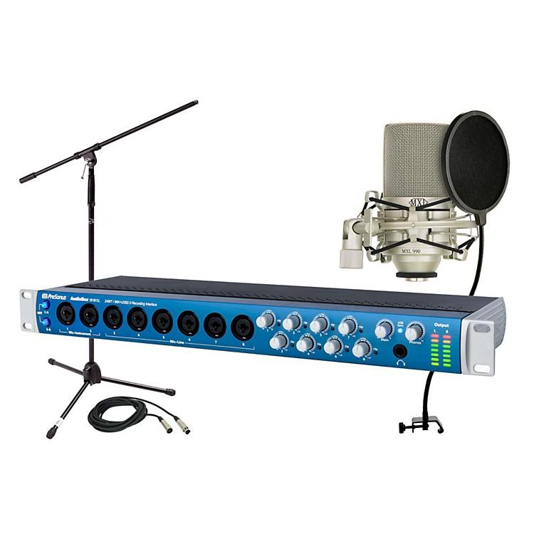 PreSonusAudiobox 1818VSL MXL 990 Package