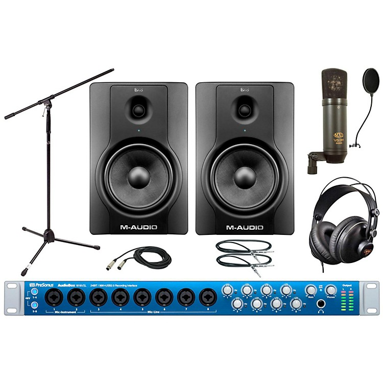 PreSonus Audiobox 1818VSL MXL Package