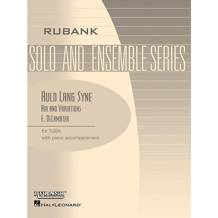 Rubank PublicationsAuld Lang Syne - Air and Variations Rubank Solo/Ensemble Sheet Series Softcover